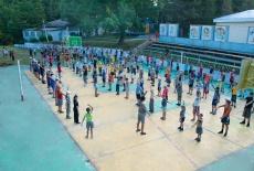 Инфраструктура в детском лагере Дон