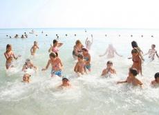 Программа в детском лагере Морская звезда