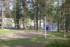 Инфраструктура в детском лагере Пионер