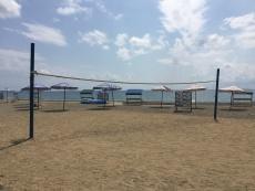 Пляж в детском лагере Шахтинский текстильщик