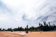 Пляж в детском лагере SMART CAMP