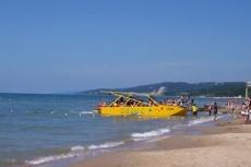 Пляж в детском лагере Старт