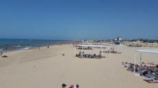 Пляж в санатории Вита